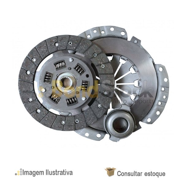 Kit De Embreagem Tracker 2.0 16v Gasolina 06/09