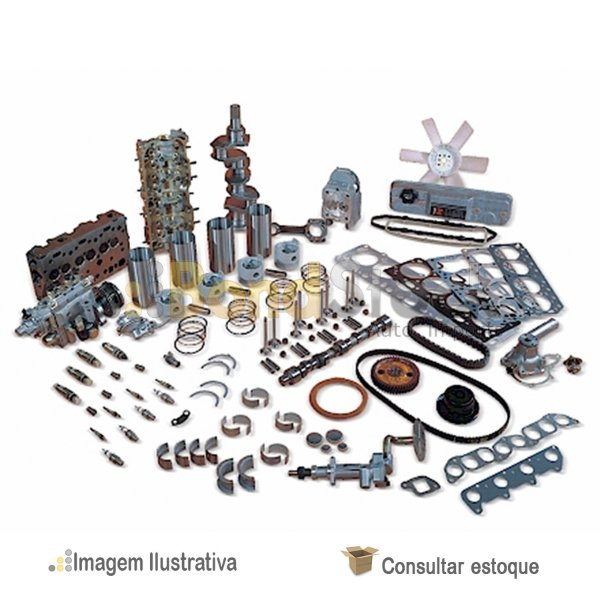 Kit De Retífica Do Motor Hyundai Accent 1.5 12v 94/98