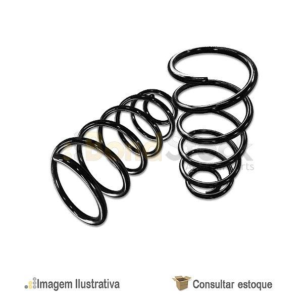 Par De Molas De Suspensão Traseira Hyundai Galloper 2.5 3.0 4x4 V6 E Turbo 8v