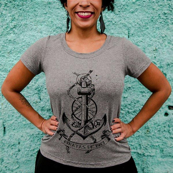 T-shirt Feminina Piratas de Bici