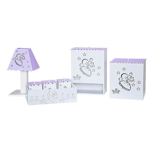 Kit Higiene Fadinha Mdf