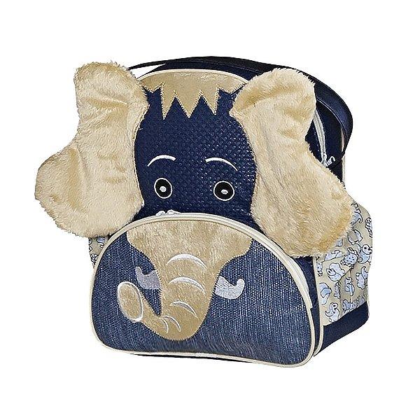 Mochila Elefante Azul Marinho G