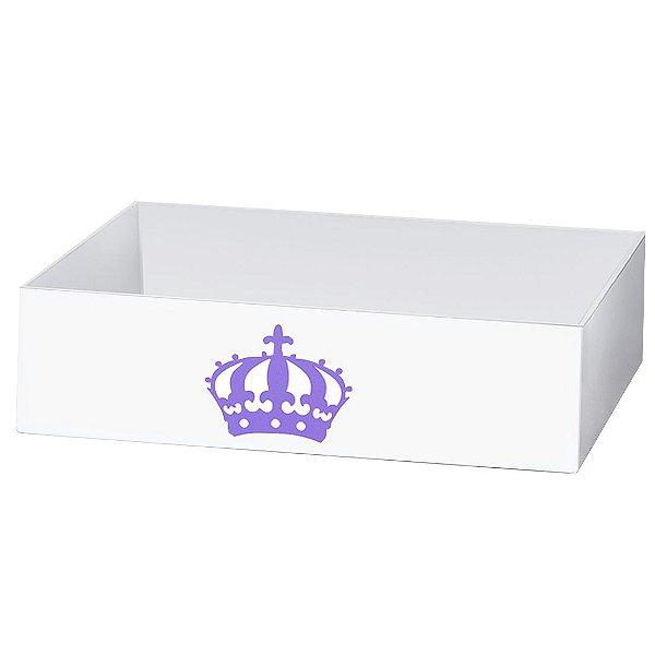 Cesta Imperial Princesa Lilás Mdf