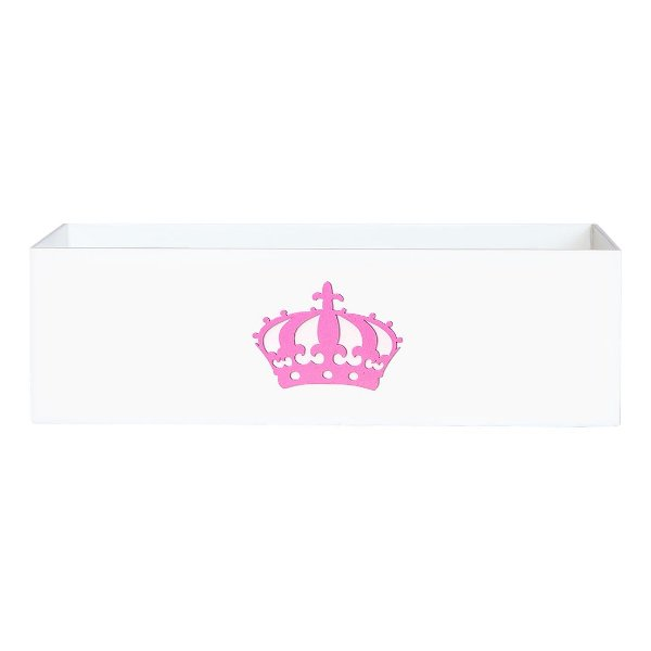 Cesta Imperial Princesa Rosa Mdf