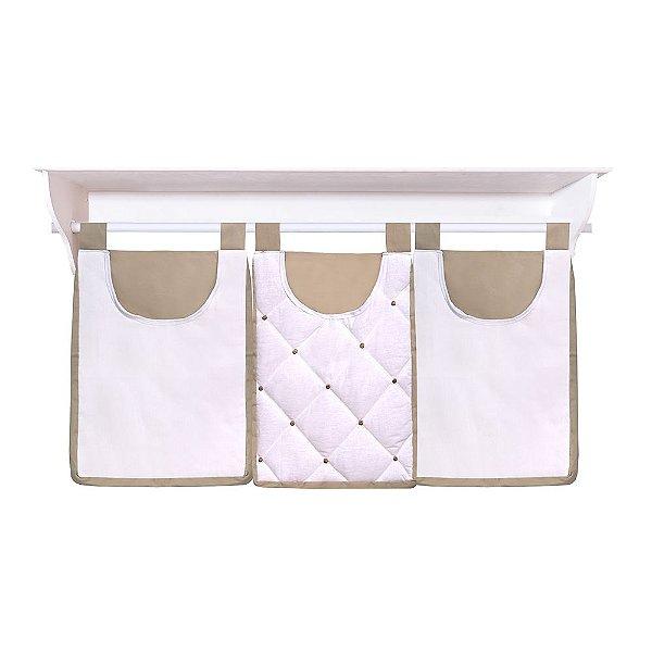 Porta Fraldas De Parede Coroa Premium