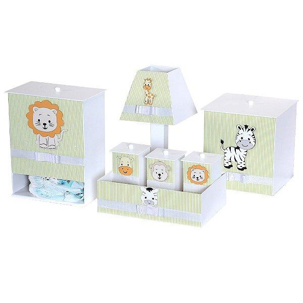 Kit Higiene Selvinha Mdf