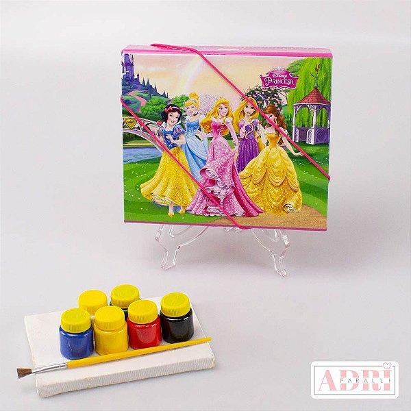 Estojo Kit Tela - Princesas Disney
