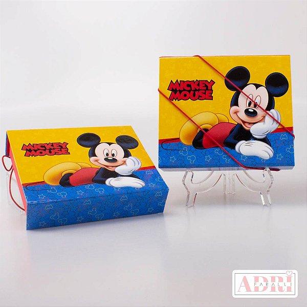 Estojo Kit Tela - Mickey