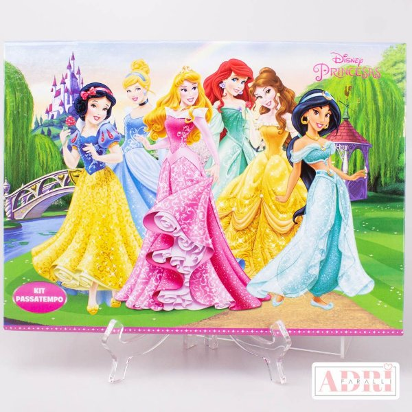 Kit Passatempo - Princesas Disney