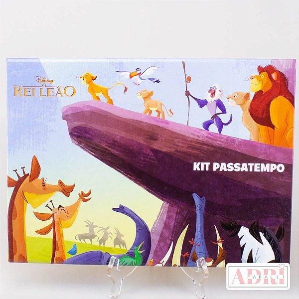 Kit Passatempo - Rei Leão