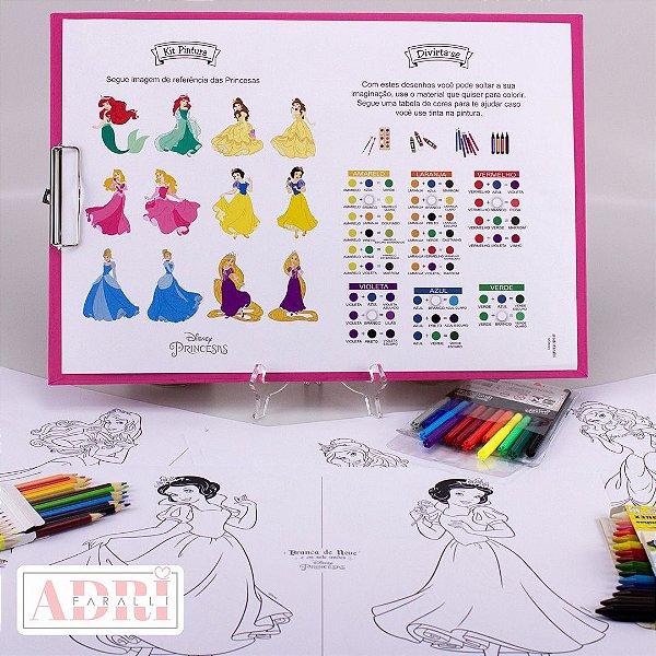 Risque Rabisque na Prancheta - Princesas Disney