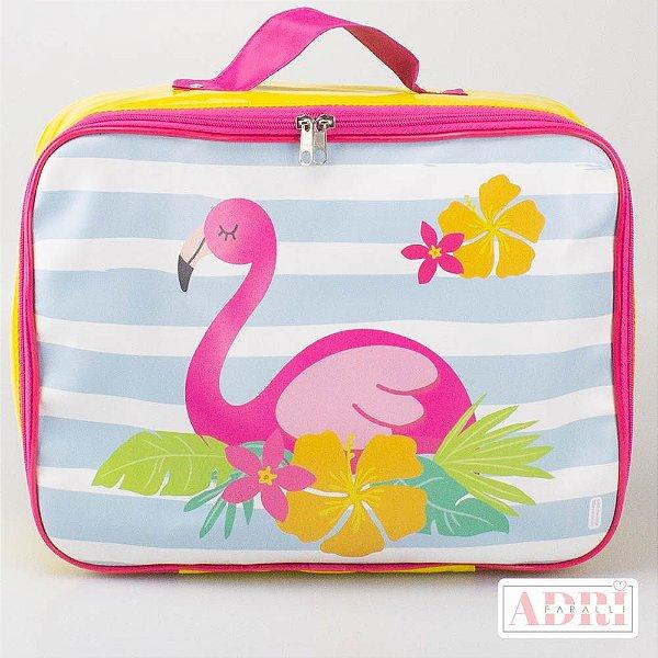 Mala de Viagem Média - Flamingo