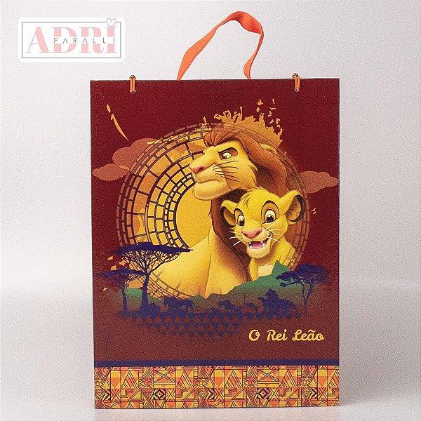 Mala de Pintura Vertical com Desenhos - Rei Leão