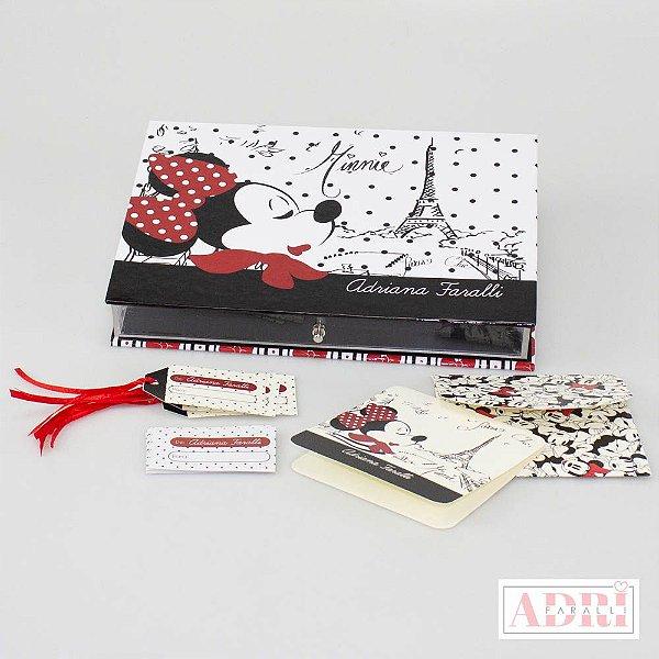 Caixa de Papelaria Personalizada 2 - Minnie