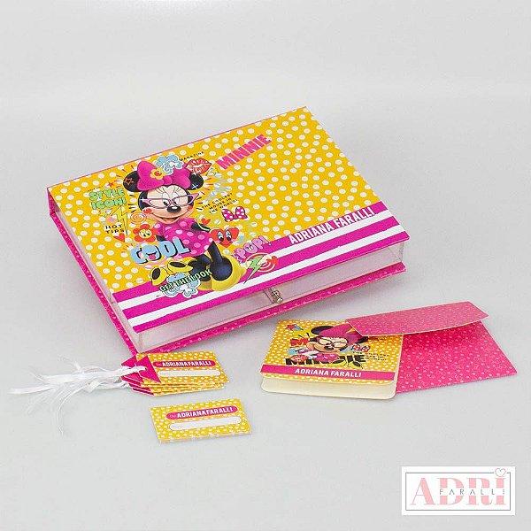 Caixa de Papelaria Personalizada 5 - Minnie
