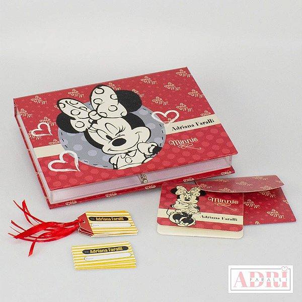 Caixa de Papelaria Personalizada 6 - Minnie