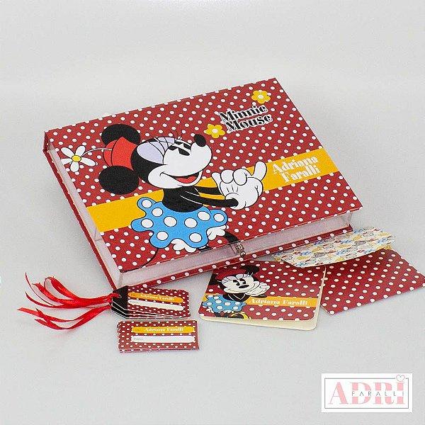 Caixa de Papelaria Personalizada 7 - Minnie