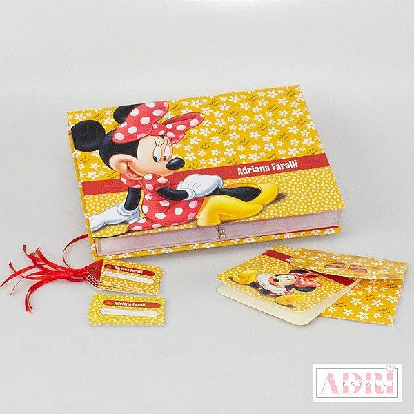 Caixa de Papelaria Personalizada 8 - Minnie