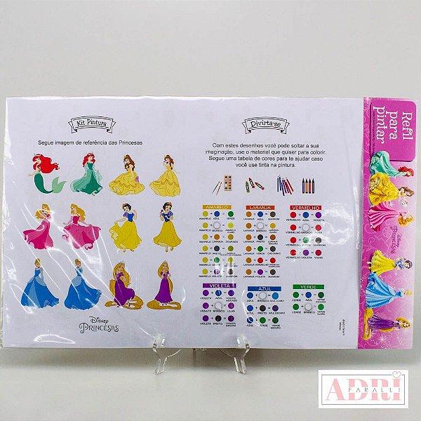 Refil Para Risque Rabisque na Prancheta - Princesas Disney