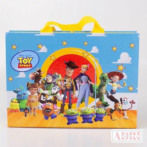 Mala de Pintura com Tela Riscada - Toy Story 4