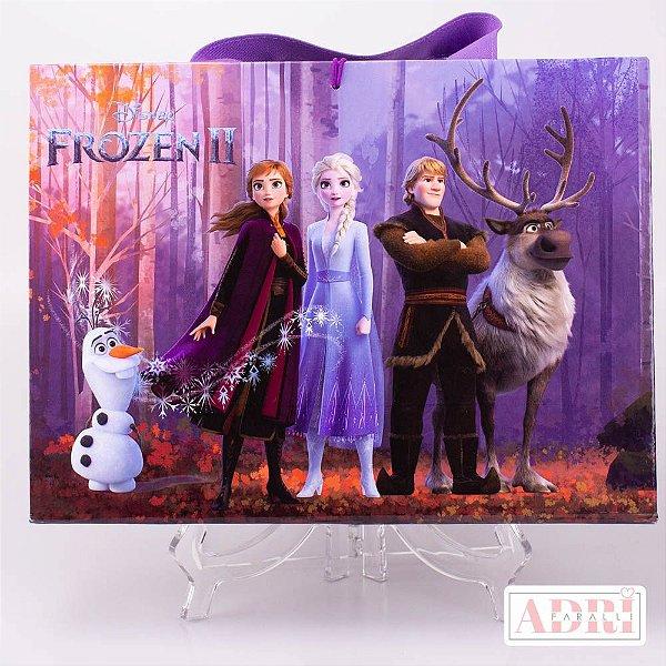 Mala de Pintura com Tela Riscada - Frozen 2