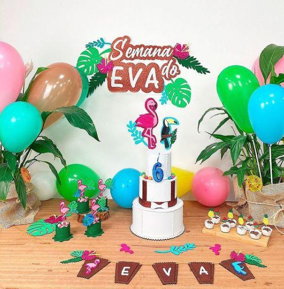 Projeto Festa Temática + Kit de EVA