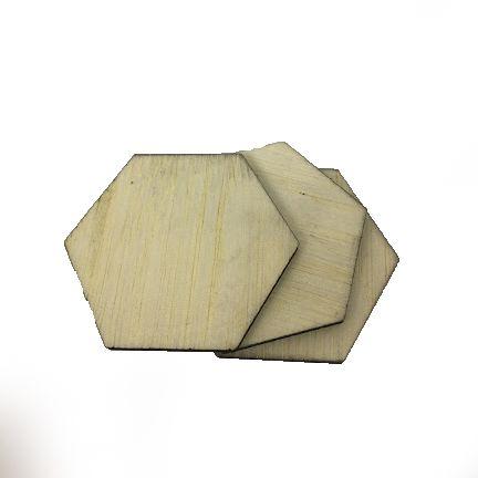 Balsa Natural 2,3mm - Placa retangular 7,5x40cm