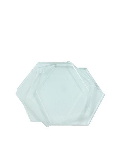 Acrílico 6mm - Placa retangular 30x40cm Cristal