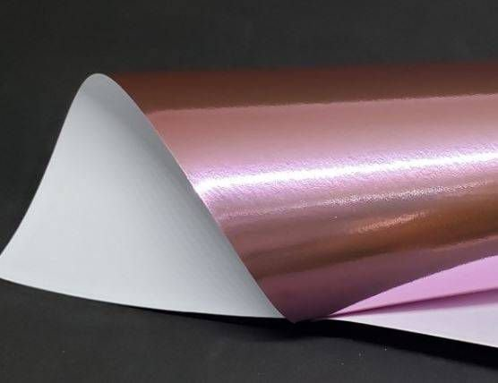 Papel Lamicote Rose 255g - Kit com 10