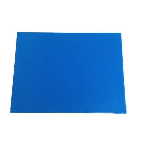 Acrílico 3mm - Placa retangular 30x40cm Azul claro
