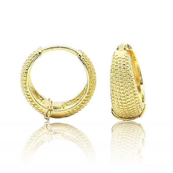 Argolinha Semi joia Dourado