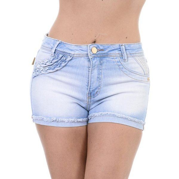 Short Jeans One  Destroyer  - 38 - Jeans - Destroyer Trança