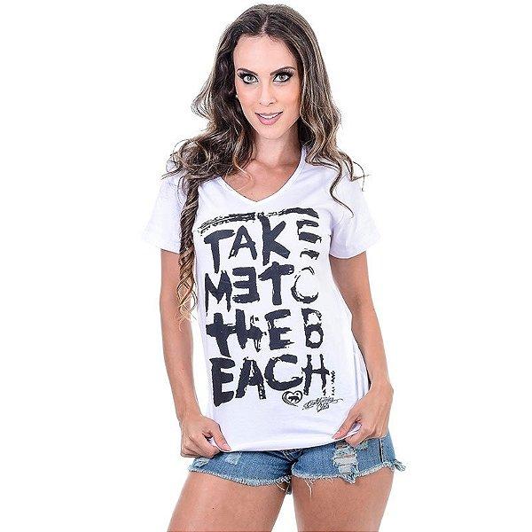 Camiseta Take Me c/ Manga