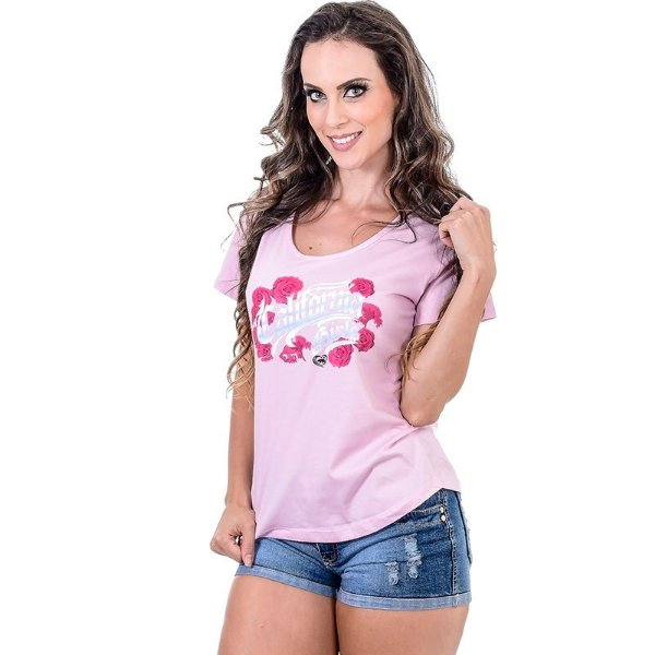 Camista Baby Look Roses