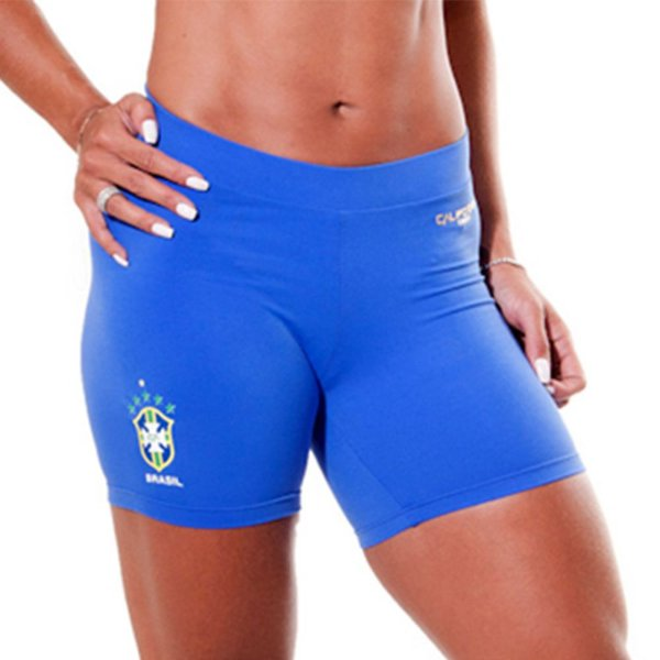 Short  Brasil Azul Royal