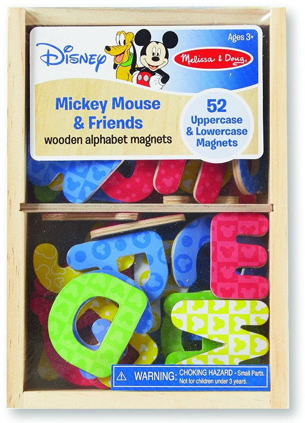 Alfabeto Magnético Mickey Mouse 52 letras