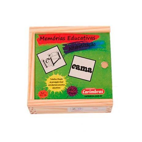 Jogo da Memória de Alfabetização