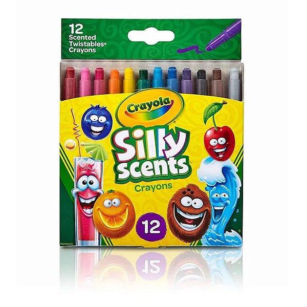 Giz de cera perfumado e cremoso 12 cores - Crayola