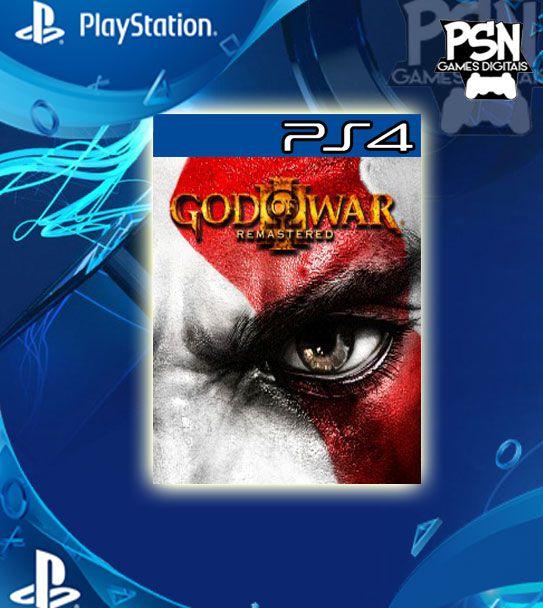 GOD OF WAR 3 REMASTERED - PSN PS4 - MÍDIA DIGITAL