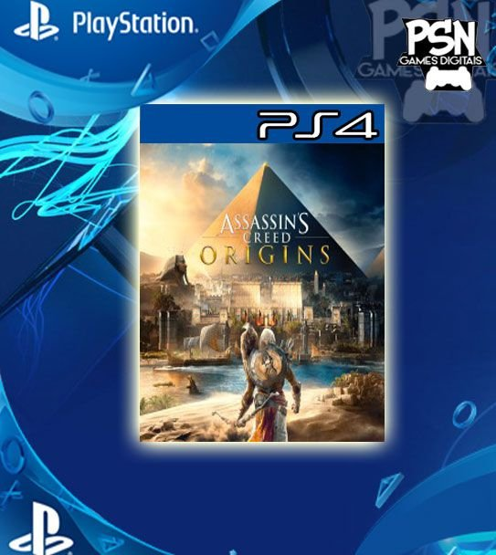 ASSASSINS CREED ORIGINS - PSN PS4 - MÍDIA DIGITAL