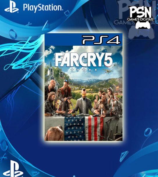 Far Cry 5 - Ps4 Psn Mídia Digital