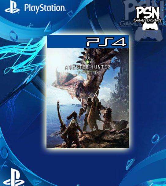 Monster Hunter World - Ps4 Psn Mídia Digital