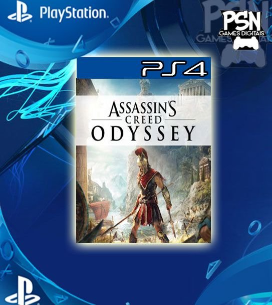 Assassin's Creed Odyssey - Ps4 Psn Mídia Digital