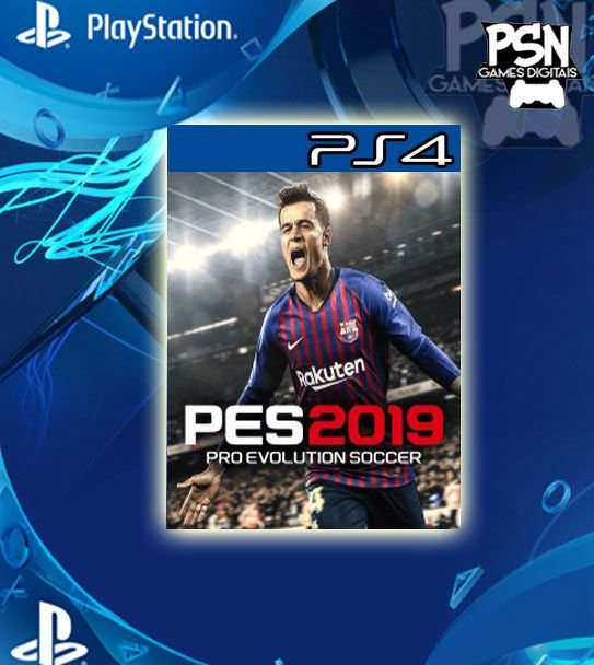 Pro Evolution Soccer 2019 - Ps4 Psn Mídia Digital