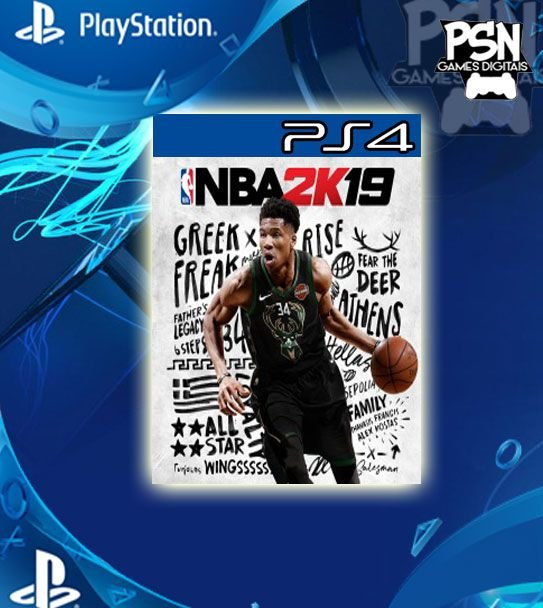 NBA 2k19 - Psn Ps4 Digital