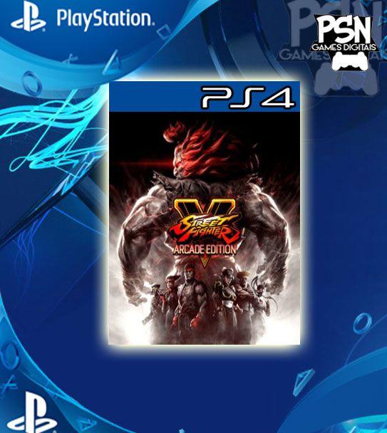 Street Fighter V Arcade Edition - Psn Ps4 Mídia Digital