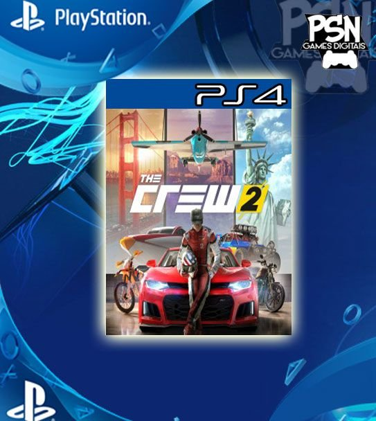 The Crew 2 - Psn Ps4 Mídia Digital