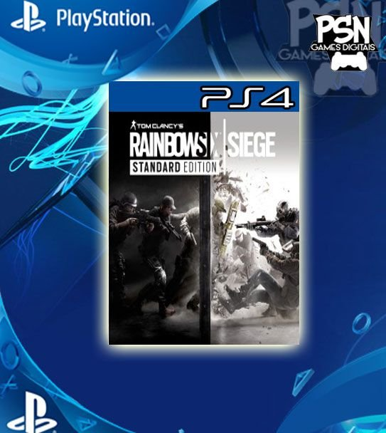 Tom Clancys Rainbow Six Siege - Psn Ps4 Mídia Digital