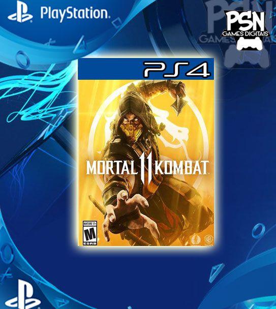 Mortal Kombat 11 - Psn Ps4 Mídia Digital
