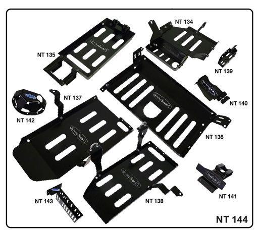 Kit de Protetores Inferiores Troller (2015/)